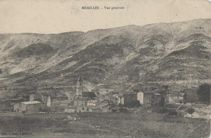 Méailles - Vue générale.