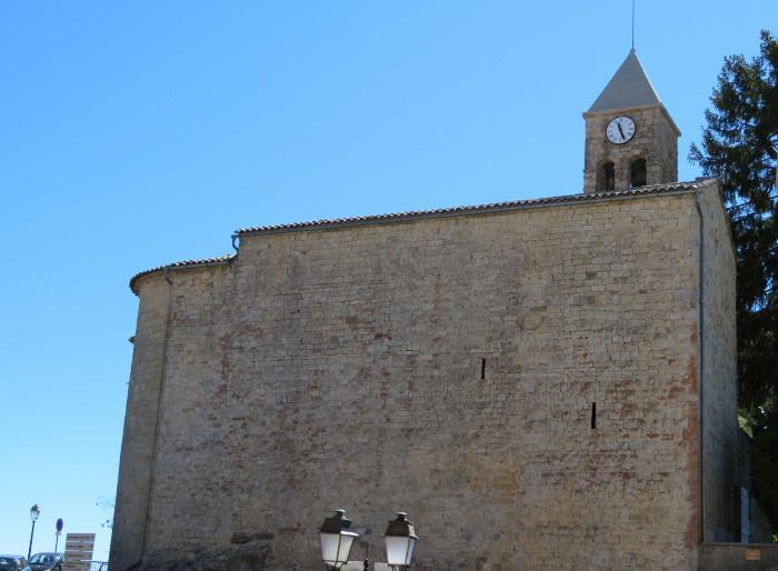 église paroissiale Saint-Véran. Cliché : Thomassin, Philippe, Roudoule, écomusée en terre gavotte, mars 2019.