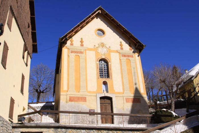 Chapelle des Pénitents blancs. Cliché : Thomassin, Philippe, Roudoule, écomusée en terre gavotte, 2014.