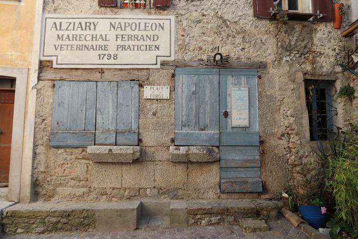 Ancienne forge Alziary, Roquestéron. Cliché : Thomassin, Philippe, Roudoule, écomusée en terre gavotte.