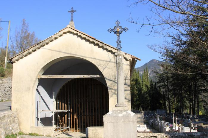 Chapelle de l'Annonciation, Roquestéron. Cliché Thomassin, Philippe, 2019.