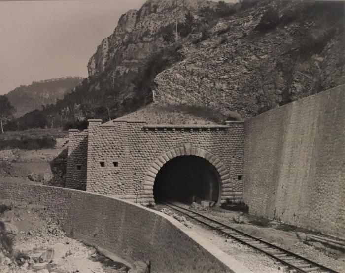Tête de Nice du souterrain du Col de Braus (kil.25 -375)